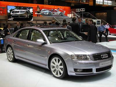 2003 Audi A8 Vehicle Procedures