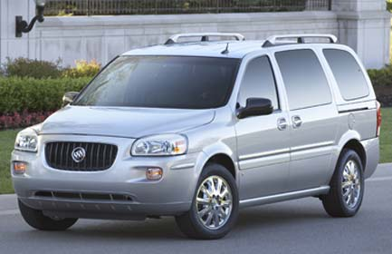 2007 Buick Terraza Immobilizer