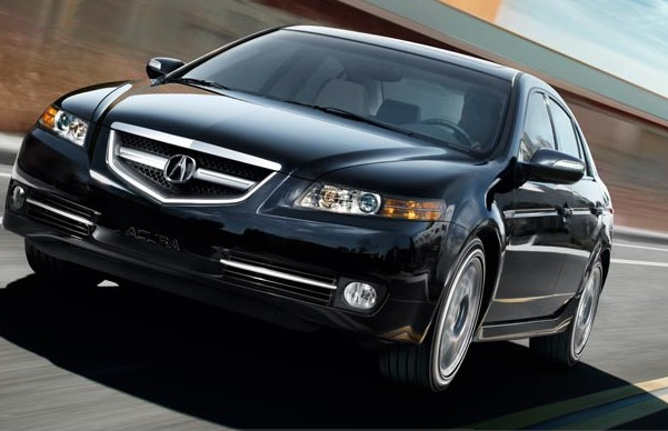 2008 Acura TL vehicle programming