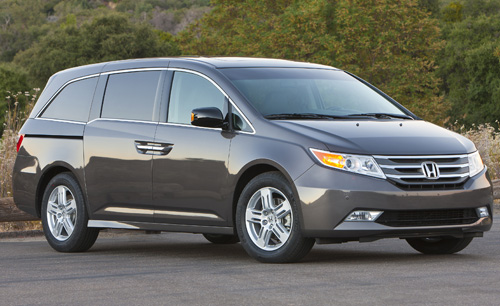 2013 Honda Odyssey LX Control Guide