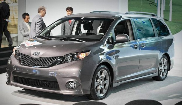 2014 Toyota Sienna Fob Entry Guide