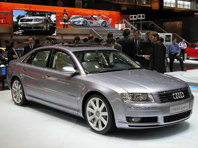 2003 Audi A8 Vehicle Procedures