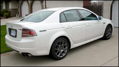 2007 Acura TL keyless instructions
