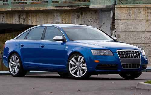 Instructions Audi S6 2008